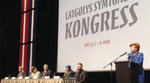 Dalība Latgales simtgades kongresa plenārsēdē