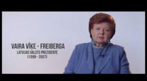 Latvijai BŪT zaļai! Valsts prezidente (1999 – 2007) Vaira Vīķe-Freiberga