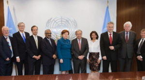 UN Secretary General discusses global democracy challenges with Club de Madrid