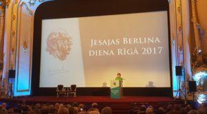 """Dalība Jesajas Berlina dienas 2017 pasākumā """"Splendid Palace"""""""