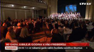 80 gadu jubilejā godina V.Vīķi-Freibergu