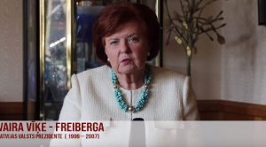 Piedalīties vēlēšanās latviešus visā pasaulē aicina arī eksprezidente Vaira Vīķe Freiberga