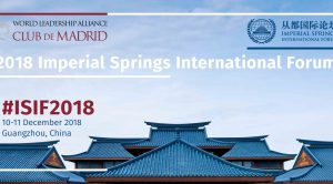 Vaira Vike-Freiberga's statement on the 2018 Imperial Springs International Forum