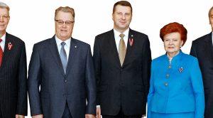 Valsts prezidenti novēl: Būt lepniem, ticēt sev un turpināt veidot stipru Latviju