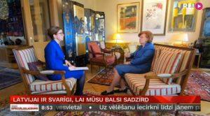Vīķe-Freiberga: EP deputāti ir arī «komunikācijas caurule» starp Latviju un Eiropu