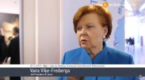 Putin's Thought Process. Interview With Vaira Vīķe-Freiberga
