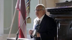 """Lekciju cikls """"Pasaules līderu lasījumi"""" – Dr. Ismails Serageldins"""