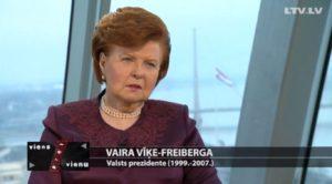 Eksprezidente: Latvijai vajag 10 gadu plānu – par pusi samazināt mazturīgo skaitu