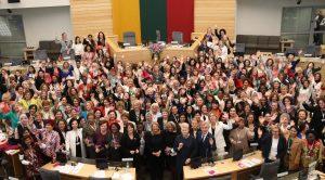Women Political Leaders Summit 2018 in Vilnius, Lithuania on 6-8 June