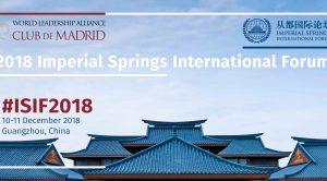 Vaira Vike-Freiberga's statement on the 2018 Imperial Springs International Forum