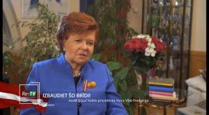 Apsveikums Latvijas valsts simtgadē Latvijas reģionu televīzijas skatītājiem