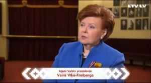 Vīķe-Freiberga: Latvijai svarīgi turpināt izvēlēto ceļu – kļūt par modernu, demokrātisku sabiedrību