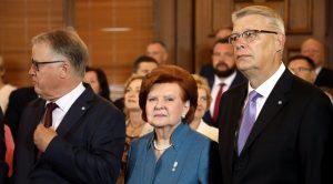 LSM: Vīķe-Freiberga: Levita pirmā runa prezidenta amatā bija iedvesmojoša